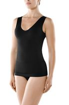 Seamless V Neck Shaping Camisole Black X-Large