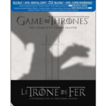Game Of Thrones: The Complete Third Season (Blu-ray + DVD + Digital Copy) (Bilingual)