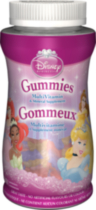 Disney Princess Multivitamin & Mineral Supplement Gummies