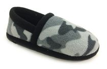 George Toddler Boys' Russell Fleece Slippers Camo 4-5