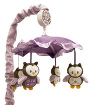 "Baby's First by Nemcor-""Very Berry Owl"" Musical Mobile"
