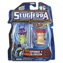 Ensemble de 2 figurines base de Slugterra - Spinner et Bludgeon