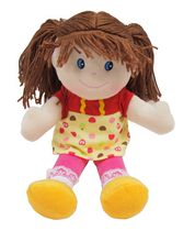 "12"" Rag Doll (Yellow)"