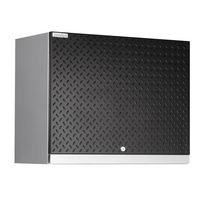 NewAge Performance Plus Diamond Series Wall Cabinet - Black