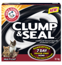 ARM & HAMMER™ Clump & Seal™ Multi-Cat Complete Odour Sealing Clumping Litter