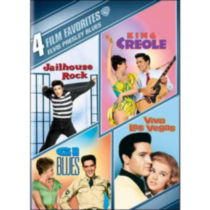 4 Film Favorites: Elvis Presley Blues: G.I. Blues / King Creole / Jailhouse Rock / Viva Las Vegas