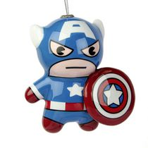 Hallmark Marvel Captain America Kawaii Decoupage Ornament (Walmart Exclusive)