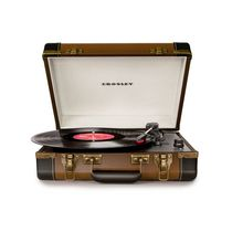 Platine USB portative Executive de Crosley Brun