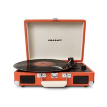 Crosley Cruiser Portable Turntable Orange