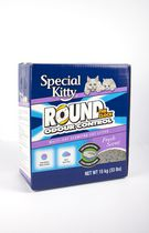 Special Kitty Round The Clock Odour Control Multi-Cat Clumping Cat Litter- Fresh Scent 15 kg