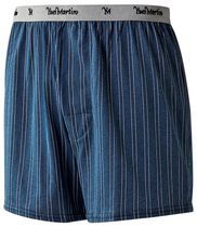 Yves Martin Men's striped boxer shorts L