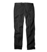 G4574 Genuine Dickies Cell Phone Pocket Work Pant Black 32in x 32in
