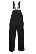 G6541 Genuine Dickies Duck Bib Overalls Black 44x32