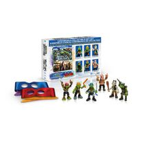 Teenage Mutant Ninja Turtles: Out Of The Shadows - Cowabunga Collectible Giftset (Blu-ray + DVD + Digital HD + Turtle Masks + 6 Action Figures) (Walmart Exclusive) (Bilingual)