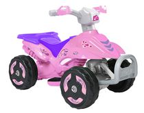 Kalee 6volt Mini Quad Pink All-Terrain Vehicle