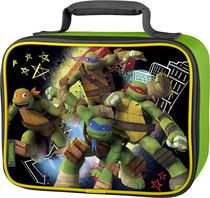 Genuine Thermos Brand Teenage Mutant Ninja Turtle Soft Lunch Kit