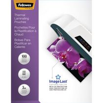 Fellowes Thermal Laminating Pouches - Letter, Pack of 100