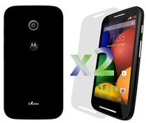 Exian Solid Case for Moto E - Black