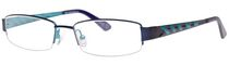 Minimize Men's 5921 Blue/Green Eyeglass Frame