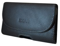 Exian Real Leather Pouch - With Belt Clip Large