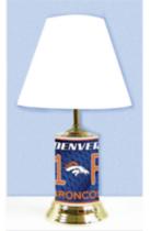 Lampe de table des Broncos