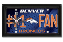 NFL Denver Broncos™ Wall Clock