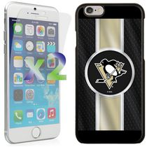 Exian Étui NHL pour iPhone 6 - Pittsburgh Penguins