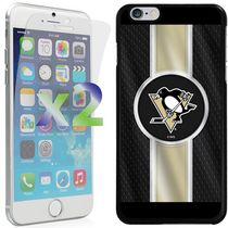 Exian Étui NHL pour iPhone 6 Plus - Pittsburgh Penguins