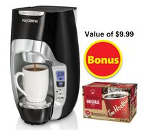Hamilton Beach Flexbrew Coffeemaker with Tim's Bonus Pack