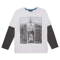 George British Design Boys Nyc T Shirt 6