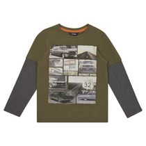 George British Design Boys Car Photographic T Shirt 6X