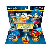 LEGO Dimensions : ensemble niveau Sonic The HedgehogMC