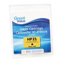 Cartouche d'encre noir HP21 Great Value
