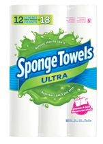 SpongeTowels Ultra Choose-A-Size Giant 2 Ply Towel