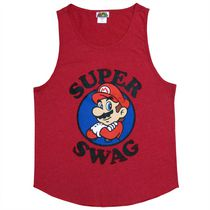 Nintendo Mario Men's Sleeveless Tank Top XL