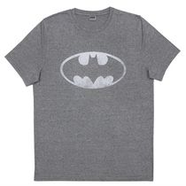 Batman Men's Poly Cationic Short Sleeve T-Shirt Small