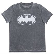 Batman Men's Burntout Short Sleeve T-Shirt Small