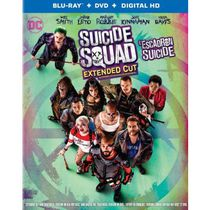 Suicide Squad (Extended Cut) (Blu-ray + DVD + Digital HD) (Bilingual)