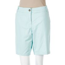 George Women's Twill Bermuda Shorts Turquoise 6