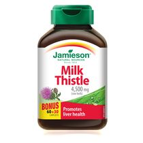 Jamieson Milk Thistle Caplets, 4500 mg
