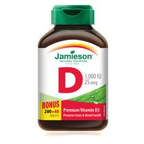 Jamieson Vitamin D 1,000 IU Tablets