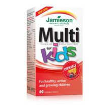 Jamieson Kids Multivitamin Chewable Tablets