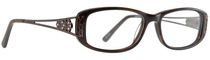Image Café Women's IC5799 Brown Eyeglass Frame