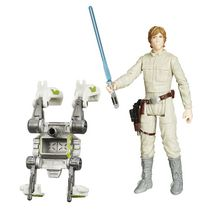 Star Wars L'Empire contre-attaque Figurine Luke Skywalker (Bespin) en mission dans la forêt 3,75 po