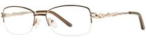 Image Cafe Women's IC5804 Brown Eyeglass Frame