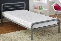DHP Twin Jacquard Poly Filled Mattress - 6""