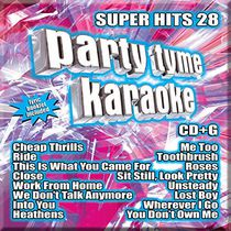Sybersound - Party Tyme Karaoke: Super Hits 28