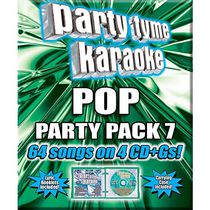 Sybersound - Party Tyme Karaoke: Pop Party Pack 7