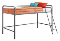 Dorel Junior Loft Grey Bunk Bed