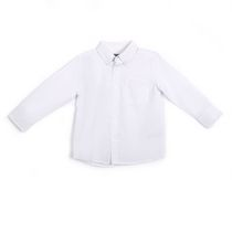 George Boys' School Uniform Long Sleeved Oxford Shirt L/G